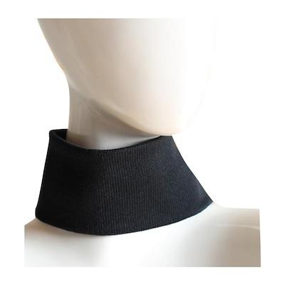 Black Navy Blue Color Block Elegant Chain Neck Plus Size Top 188 mv Blouse 1X 3X