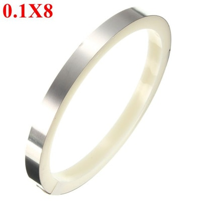 Chisel Stainless Steel Polished with Leather Cuff Bangle MSRP $170
