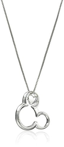 Glitzs Jewels Sterling Silver Celtic Claddagh Pendant 24mm