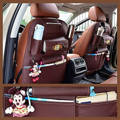 eing Car Seat Gap Filler Camellia PU Leather Car Console Side Organizer Seat Gap Filler Catch Caddy for Car Interior Accessories,Cellphone Wallet Coin Key,White Flower