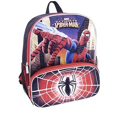 Marvel Spider-Man Avenger Deluxe 3d Embossed Mini Backpack 10/'/'~Super Fast Ship