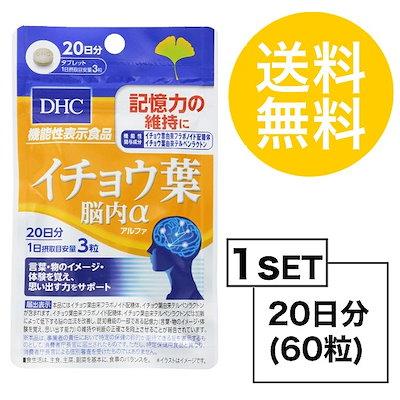 【お試しサプリ】【送料無料】 DHC イチョウ葉 脳内α(