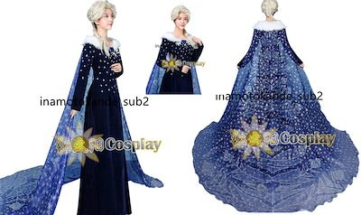bb86ea5f7bc05 アナと雪の女王 家族の思い出 エルサ コスプレ衣装 コスチューム 変身 仮装 ステージ