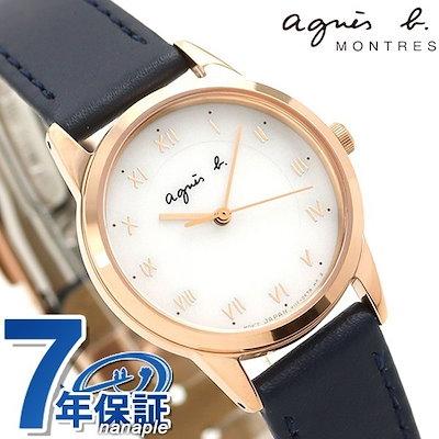premium selection 006ae 06cb4 アニエスベーアニエスベー 時計 レディース ソーラー FBSD940 agnes b. マルチェロ ホワイト×ネイビー 腕時計