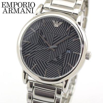 half off d3d31 f5581 アルマーニ【送料無料】EMPORIO ARMANI エンポリオアルマーニ メンズ 腕時計 ウォッチ グレー 銀 シルバー AR11134 海外モデル  プレゼント