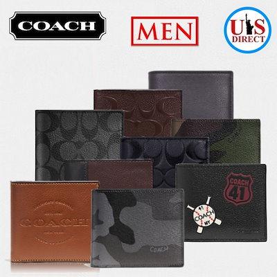 c6fe71e0a30a Qoo10] コーチ : 【COACH/コーチ】二つ折り財布 : メンズバッグ ...