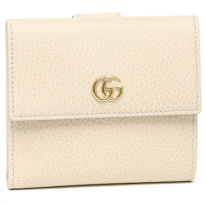 outlet store 67807 a8161 グッチグッチ 財布 GUCCI 456122 CAO0G 9022 PETITE MARMONT GGマーモント レディース 二つ折り財布  MYSTIC WH 白