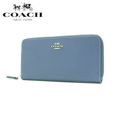 sports shoes b106a 0f6a0 コーチコーチ 長財布 レディース COACH Wallet ラウンドファスナー F16612 SV/YZ