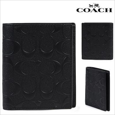 11f2a4ff56aa Qoo10] コーチ : コーチ COACH 財布 二つ折り メン... : メンズバッグ ...