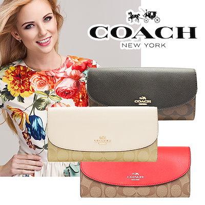 afbdf4c2e339 Qoo10] コーチ : COACHスッキリ折り長財布がこの価格♥... : バッグ・雑貨