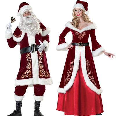 5173ff413ee31 サンタ コスプレ 激安 サンタコス クリスマス サンタクロース トナカイ コスチューム 衣装 大きいサイズ 長袖 コス セクシー パーティ サンタ
