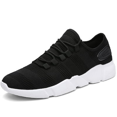シューズ 靴 スニーカー メンズ 白 黒 グレー ランニングシューズ 軽量スニーカー 通気 スポーツシューズ