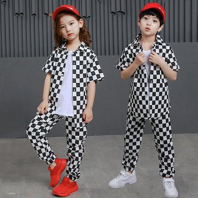 2d31fc7f9c57f  Qoo10  ダンスウェアキッズダンス衣装 セット   キッズ