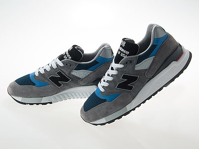 timeless design f6cc9 28dc3 ニューバランス送料無料!! ニューバランス NEW BALANCE M998NF MADE IN USA GRAY/BLACK/NAVY/BLUE  ...