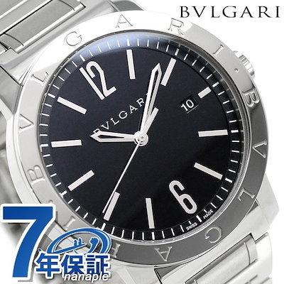 check out 02c5d f77d9 ブルガリブルガリ BVLGARI ブルガリブルガリ 41mm 自動巻き メンズ BB41BSSD 腕時計 ブラック