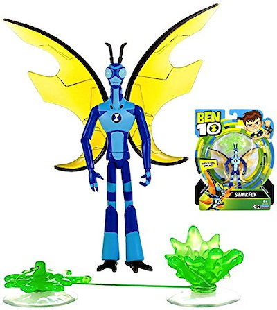 Qoo10 10 stinkfly cartoon network ben 10 poseable 10 stinkfly cartoon network ben 10 poseable action figure 5 voltagebd Gallery