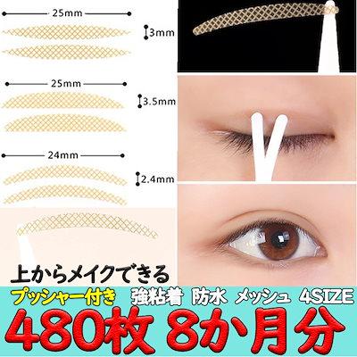 二重瞼 種類