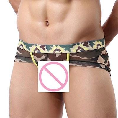c32dc3830e8c37 Qoo10] メンズパンツ下着ショーツ男性透明超薄型通... : メンズファッション
