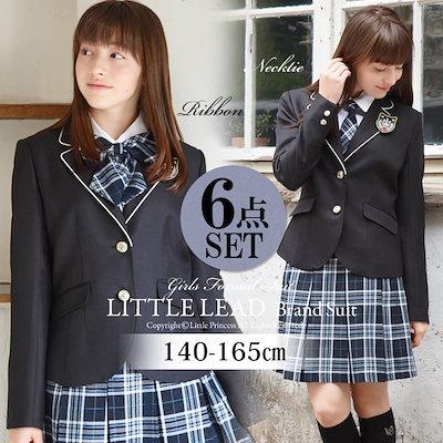 3c5e201904355 Qoo10  リトルプリンセス   卒業式 スーツ 女の子 140 150 ...   キッズ