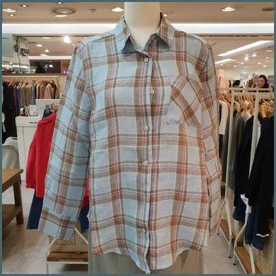 [ロブエンショー]リンネンチェック南方LBJCGSH04 並行輸入品 /ソリッド/無地Tシャツ/ Tシャツ/韓国ファッション/