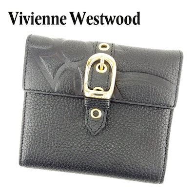 6fed971a20ab ヴィヴィアン ウエストウッド Vivienne Westwood 三つ折り 財布 二つ折り 財布 レディース メンズ 可 オーブ 未