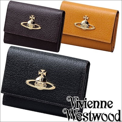 94bf6a0d9e39 名入れ・ラッピング対応☆ Vivienne Westwood ヴィヴィアンウエストウッド ヴィヴィアン 二つ折り財布