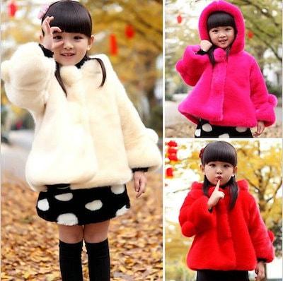067bd2ad59765 可愛い 子供冬コート レザージャケット ふわふわファーコート 中綿コート 暖かい アウター 韓国キッズファッション