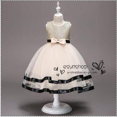 824971f8c8e5a 子供ドレス 発表会 ピアノ発表会 結婚式 フォーマル ドレス 女の子 二次会 花嫁 ジュニア キッズ ...