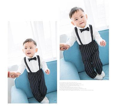 a850226329658 子供服 ロンパース 男の子 フォーマル スーツ 赤ちゃん ベビー かっこいい 可愛い 韓国 結婚式 七五三 ベスト おしゃれ