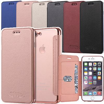 手帳型 IPhone X iphone8ケース iPhone7ケース 手帳型 きにオススメ♪ iPhone Galaxy