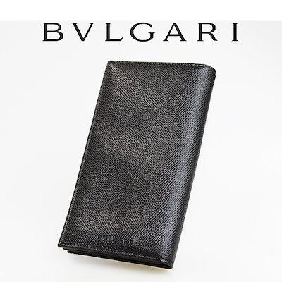 494428cb0241 新品 送料無料 BVLGARI ブルガリ 2つ折り長財布 25752 ブラック ブランド メンズ レディース 財布