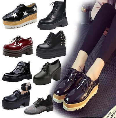 韓国ファッション 靴/カジュアルシューズ☆厚底スニーカー/スニーカー