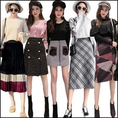 ♥ 毎日更新高品質 スカート 秋服韓国ファッション ♥限定発売♥上品&ロングスカート ♪ ミディアムスカート♪ミニスカート