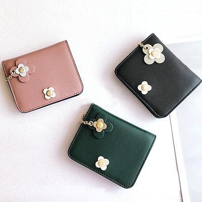 3f113a432e4e 【海外】財布 レディース ミニ財布 お札入れ カード入れ 可愛い プレゼント お花モチーフ