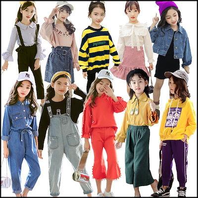 1f1eef390a632 秋季子供服激安韓国ファッション 韓国子供服 女の子-男の子合集 セットアップ子供スカート
