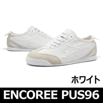[送料無料] アンコリ パス96 ホワイト (ENCOREE PUS96_WH) 男女共用スニーカー 韓国