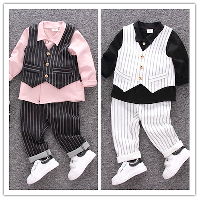 61b27c779c3fd 送料無料 韓国 子供服 出産祝い 長袖 男の子 キッズ スーツ ベビー フォーマルスーツ 男の子 3