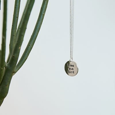 Qoo10 lettering round pendant lettering round pendant necklace mozeypictures Image collections