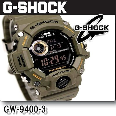16fe916a37 送料無料 CASIO カシオ G-SHOCK Gショック GW-9400-3 RANGEMAN レンジマン