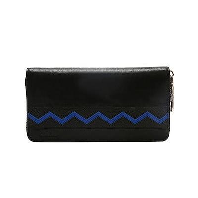 3cbab61354115c 長財布 メンズ 本革 レザー ラウンドファスナー ファスナーポケット 使いやすい VENUS ブラック 牛革 財布