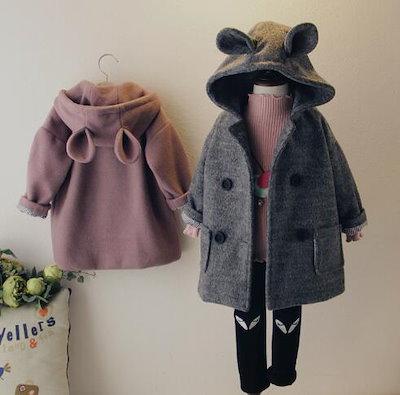 dcc237f79a3d3 韓国子供服 アウター 女の子 ダウンジャケット女の子 モッズコート ダウンジャケット 暖かい90 100 110