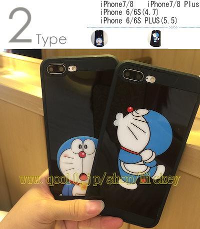 77126c79fc 高品質 可愛い iPhone8/7スマホケース かわいい ドラえもんDoraemon キャラクター ハードケース アイフォン6Plus 韓国