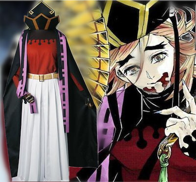 鬼滅の刃 童磨 コスプレ衣装 コスチューム ハロウィン