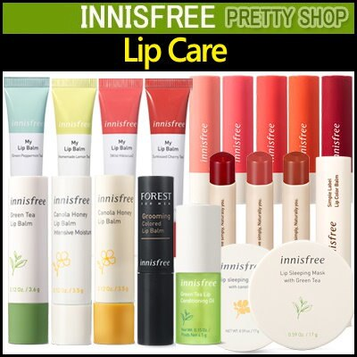 ★innisfree★ Lip Balm Series! Glow tint/Canola Honey/ GROOMING COLORED/ Simple Label Lip Color Balm