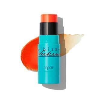 [ESPOIR]2色ブラッシュティントスティックblush tint stick 7gオレンジピンクグロウチークスティック、ツヤジューシメイク、クリームチークcheek