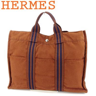古典 エルメス HERMES トートバッグ ハンドバッグ レディース メンズ フールトゥトートMM フールトゥ ブラウン ネイビー 綿100% 人気 セール 【】 G1288, ツキガタチョウ 7556532f