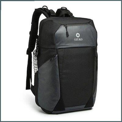 春先取りの [オーナークラン]BLACK-機能性マルチリュック専用の錠前USB充電のかばん /メンズバッグ/メンジュベク/, ムラオカチョウ b3fe3d38