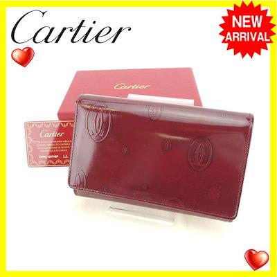 ★日本の職人技★ カルティエ : カルティエ Cartier 二つ折り財布... : バッグ・雑貨, PLEASURE TREE:9602d38b --- svarogday.com