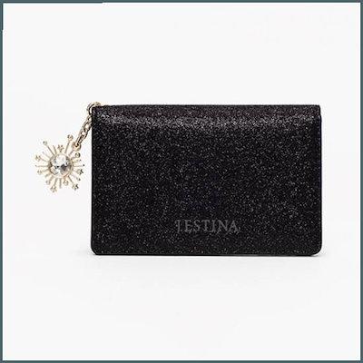 人気絶頂 [ジェイエスティナのハンドバッグ]BESSIE 2段カード財布(JSNSSF9AS228BK010) /名刺/カード入れ / 韓国ファッション, 防災防犯の専門shop岩本商事 b5af56b8