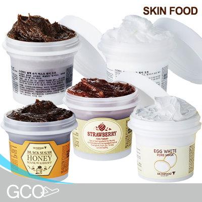 [SKINFOOD] Rice Mask Wash Off 100ml/Black Sugar Mask Wash Off 100ml/Egg Pore Mask Wash Off 100ml/